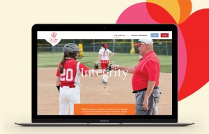 The Cor Jesu microsite features five core values, including Integrity featured here.
