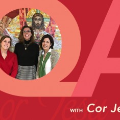 Katie Thiemann, Cynthia Wilhelm and Colleen Barry from Cor Jesu.