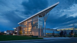 Hastings+Chivetta architects designed the student recreation center at Colorado State University